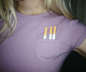 cigarette, grunge, and pale image