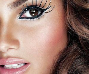 make up, eyeliner, and face image