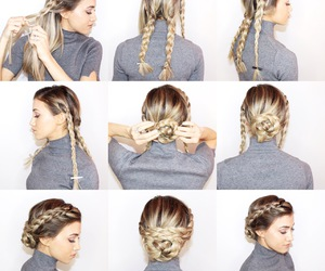 chic, hair, and Easy image