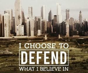 divergent, Defend, and tris image
