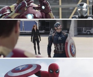 Avengers, captain america, and civil war image