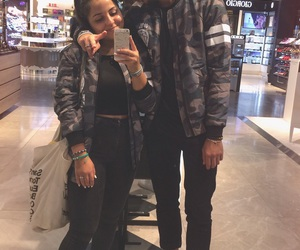 bae, bomber, and couple image