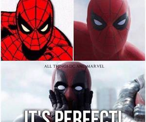 captain america, deadpool, and funny image