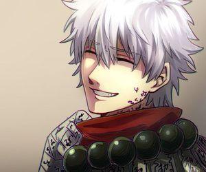 anime, smile, and gintama image