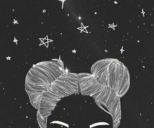 stars, outline, and art image