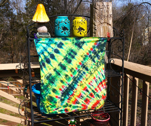 etsy, hippie tie dye, and tie dye wall hanging image