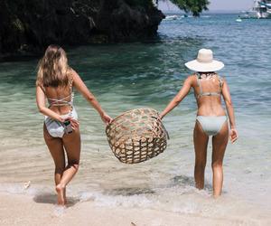 bikini, chic, and fashion image