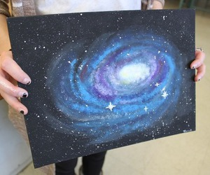 galaxy and art image