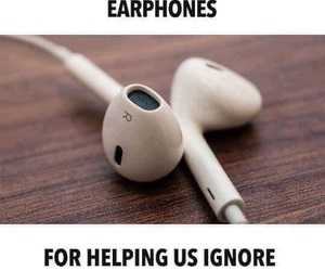 earphones, music, and true image
