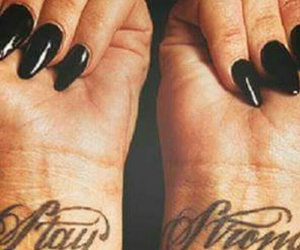 demi lovato, stay strong, and tattoo image