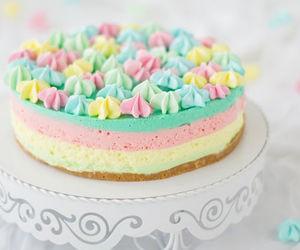 cake, food, and pastel image