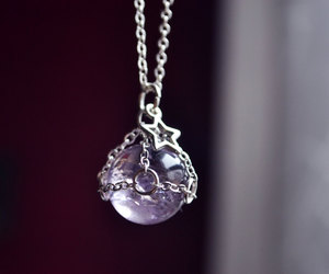 amethyst, crystals, and etsy image