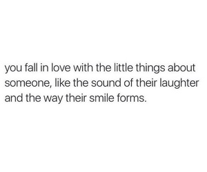 laugh, little things, and quote image