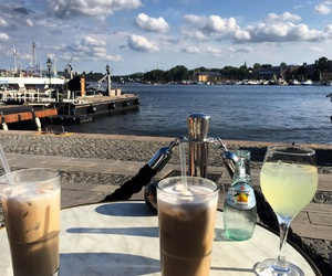 city, stockholm, and summer image