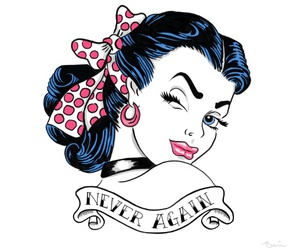 rockabilly and never again image