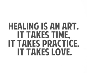 art, healing, and meaningful image