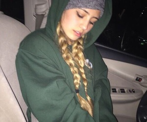 girl, lia marie johnson, and braid image