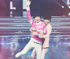 asian, pink, and tfboys image