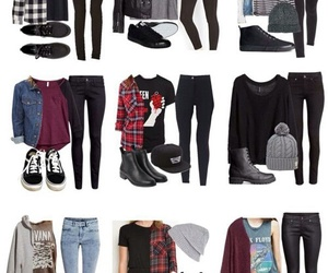 outfit, casual, and style image