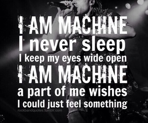 bands, quotes, and black image