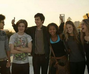 paper towns, john green, and nat wolff image