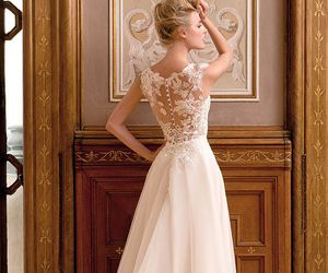 gown and wedding image