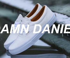 vans, white, and damndaniel image
