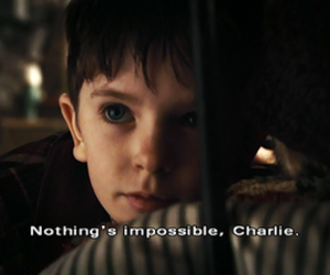 quotes, charlie, and impossible image