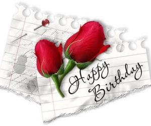 birthday, rose, and b'day image