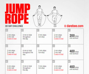 challenge, fitness, and jump image