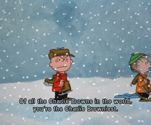 charlie brown, quote, and christmas image