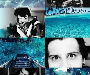 blue, lockscreen, and rubius image