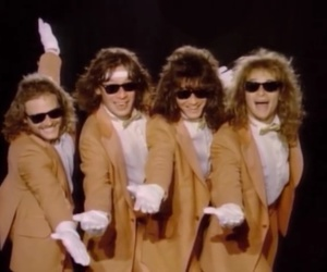 80's, boys, and Eddie Van Halen image