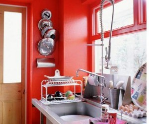 storing kitchen utensils image