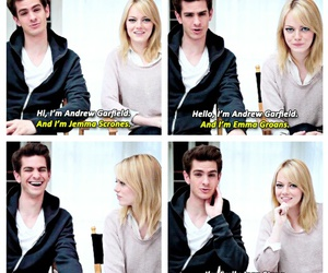 emma stone, spider man, and stonefield image