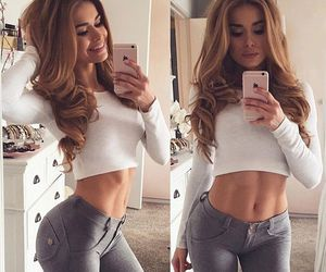 fitness, hair, and style image