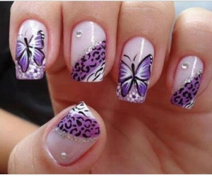 br, fashion, and nails image