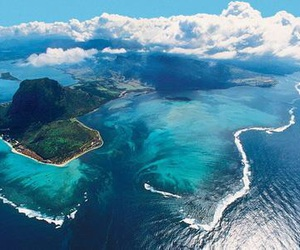 mauritius, nature, and ocean image