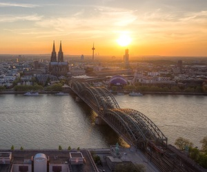 city, cologne, and germany image