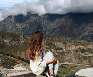 beautiful, free, and montains image