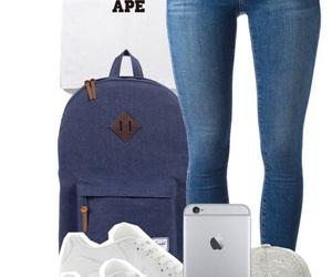 bape, Y-3, and nike airmax image