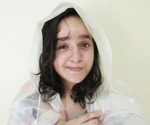 chuva, garota, and rain image