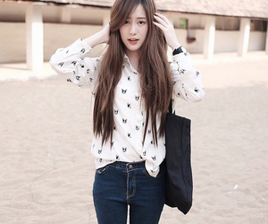 asian girl, clothes, and fashion image