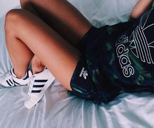 adidas and girl+ image