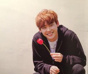 lee jong suk and flowers image