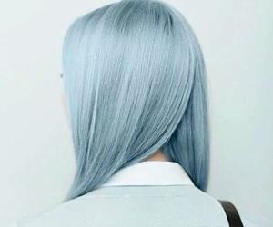 blue hair, hair, and cute image