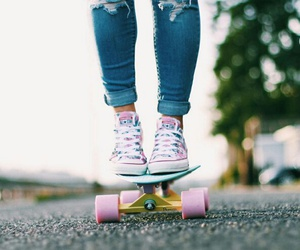 board, converse, and penny image