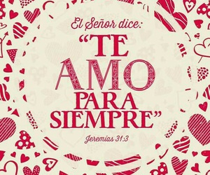 love and dios image