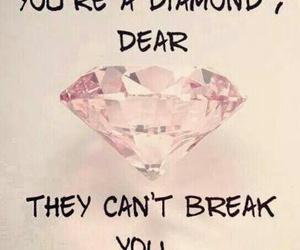 diamond, break, and quote image