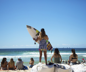 australia, manly, and rip curl image